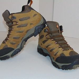 Merrell Moab Mid Waterproof Hiking Trail Boots